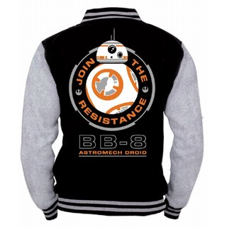 Star Wars College Jacket - BB-8 Astromech Droid