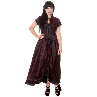 Banned Vintage Gothic Dress - Ivy Pattern