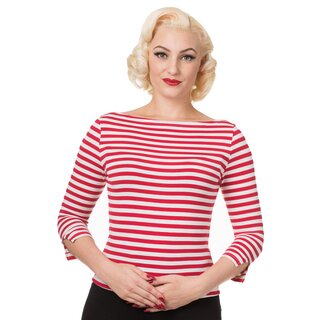 Dancing Days 3/4-Sleeve T-Shirt - Modern Love Red-White