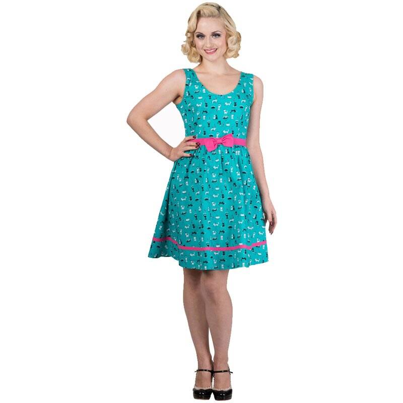 Dancing Days Sommerkleid - Bright Lights 3XL