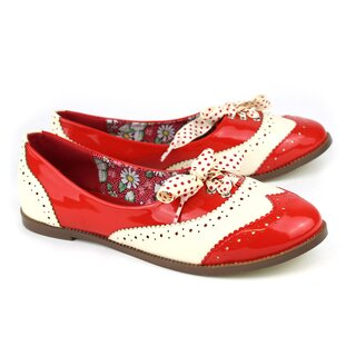 Dancing Days Ballerinas - Milana Sneakers Rot