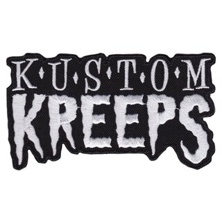 Sourpuss Kustom Kreeps Iron-On Patch - KK Logo