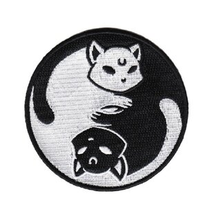 Killstar Iron-On Patch - Yin Yang