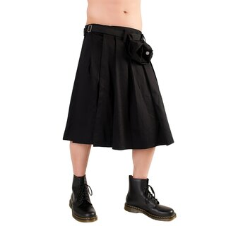 Black Pistol Schottenrock - Short Kilt Denim