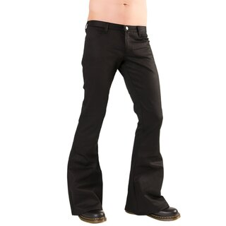 Black Pistol Gothic Trousers - Loons Hipster Denim