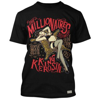 King Kerosin Vintage T-Shirt - The Millionaires Schwarz