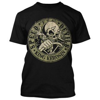 King Kerosin T-Shirt - Speed Devils Schwarz