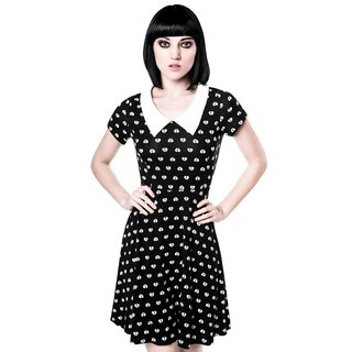 Killstar Skater Kleid - Holly Heartbreaker