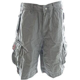 Molecule Cargo Shorts - Beach Bumpers Grey