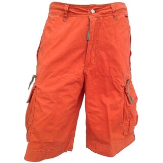 Molecule Cargo Shorts - Beach Bumpers Orange