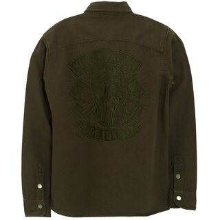 King Kerosin Worker Shirt - Ride Forever Olive