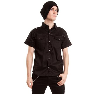 Vixxsin Gothic Shirt - Poison Black