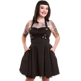 Rockabella Mini Dress with Suspenders - Lilith