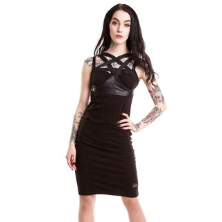 Vixxsin Gothic Dress - Toxic