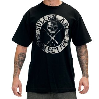 Sullen Art Collective T-Shirt - Badge Of Honor Schwarz S