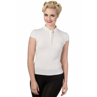 Dancing Days Vintage Blouse - Free Ride White