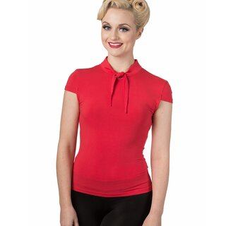 Dancing Days Vintage Blouse - Free Ride Red