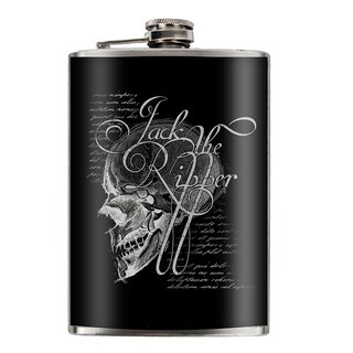 Jacks Inn Flask - Jack The Ripper Black