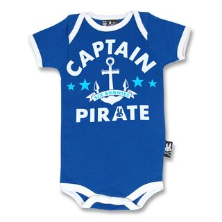 Six Bunnies Baby Romper - Captain Pirate