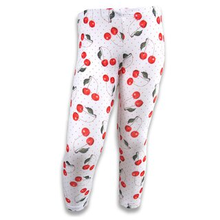 Six Bunnies Kids Leggings - Cherries
