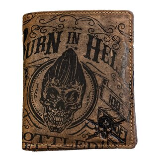 Jacks Inn 54 Leather Wallet - Korn