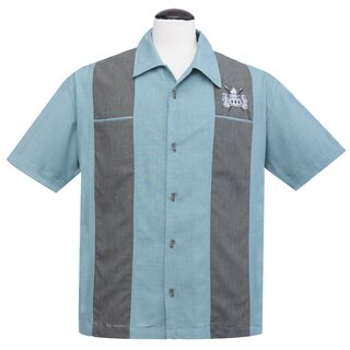Steady Clothing Vintage Bowling Shirt - Volcano Bowl