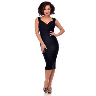 Steady Clothing Bleistiftkleid - Diva Dress Schwarz