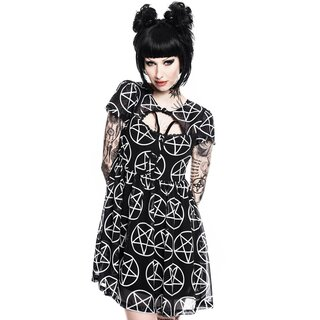 Killstar Mini Dress - Hayley Hex Tea