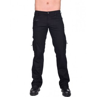 Black Pistol Jeans Trousers - Combat Pants