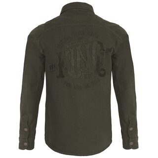 King Kerosin Worker Shirt - You And The Road Olive
