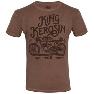 king kerosin oilwashed t shirt made in hell braun 49 95. Black Bedroom Furniture Sets. Home Design Ideas