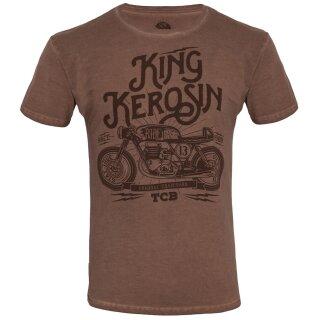 king kerosin oilwashed t shirt made in hell braun 49 95. Black Bedroom Furniture Sets. Home Design Ideas