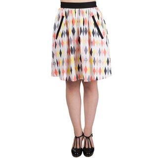 Dancing Days Skater Skirt - Heart Stops