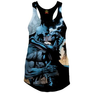 Batman Girlie Tank Top - Catwoman Kiss