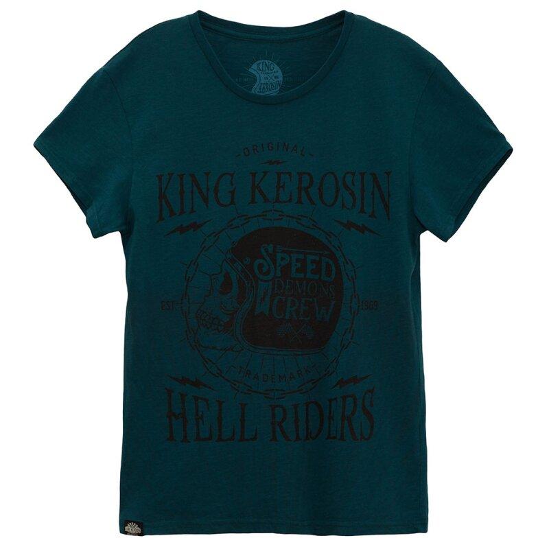 king kerosin watercolour t shirt speed demons t rkis 3. Black Bedroom Furniture Sets. Home Design Ideas