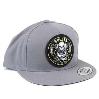 Sullen Snapback Cap - Never Defeated Grau