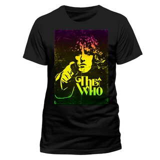 The Who T-Shirt - Roger Daltrey Face