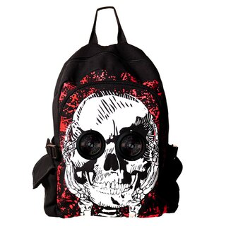 Banned Backpack with Speakers - Skull