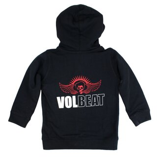 Volbeat Kinder Kapuzenjacke - Skullwing