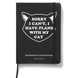 Killstar Notizbuch - Got Plans Journal
