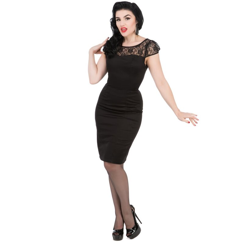 H&R London Vintage Kleid - Classic Lace