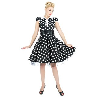 H&R London Vintage Kleid - Ethel Schwarz