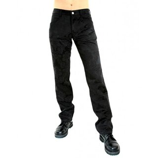 Aderlass Jeans Trousers - Brocade Black