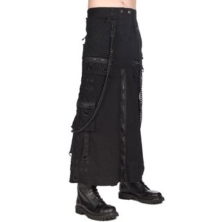 Black Pistol Kilt - Short Kilt Denim