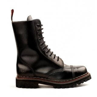 Aderlass Leather Boots - 10-Eye Steel