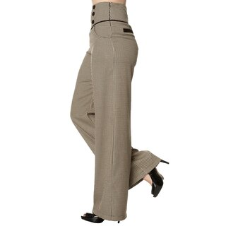 Dancing Days Marlene Trousers - Swept Off Her Feet Brown