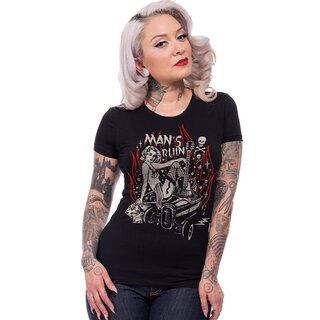 Steady Clothing Girlie T-Shirt - Mans Ruin