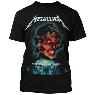 Metallica T-Shirt - Hardwired Album Cover
