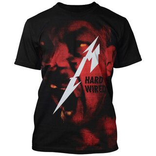 Metallica T-Shirt - Hard Wired