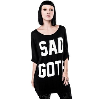 Killstar Knitted Jumper - Sad Goth
